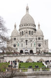 Montmartre Cathedral in Paris, France Stock Images