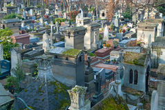 Montmartre Cemetery Royalty Free Stock Photo