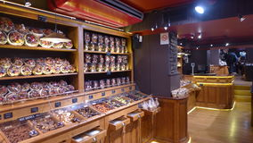 Montmartre Chocolate Shop Stock Photography