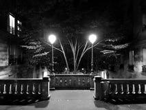 Montmartre di notte Parigi Fotografie Stock