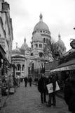 Montmartre, en París, Francia Foto de archivo libre de regalías