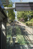 Montmartre Funicular, Paris royalty free stock photo