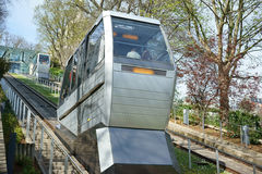 Montmartre Funicular Paryski Francja Obraz Stock