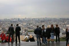 Montmartre Hügel stockbild