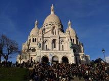 Montmartre hermoso Imagen de archivo libre de regalías