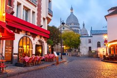 Free Montmartre In Paris, France Stock Photography - 129486612