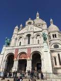 Montmartre katedry zakończenie up Zdjęcia Royalty Free