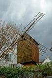 Montmartre. Le Moulin de la Galette Stock Photo