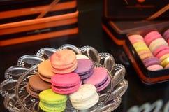 Montmartre Macarons Parigi Immagini Stock