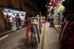 Montmartre by night. Souvenirs. Paris Stock Image