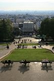 Montmartre Panorama. A view from Montmarte, Paris, France Stock Images