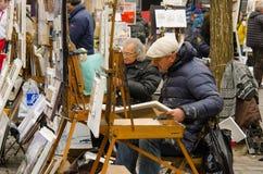 Montmartre, París fotos de archivo libres de regalías