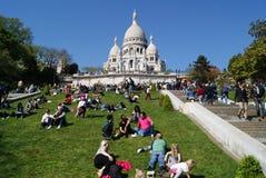 Montmartre, París Imagenes de archivo