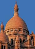 Montmartre París Francia del couer del sacre de la basílica Imágenes de archivo libres de regalías