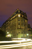 Montmartre par nuit Image libre de droits