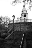 Montmartre, Parigi Fotografia Stock Libera da Diritti