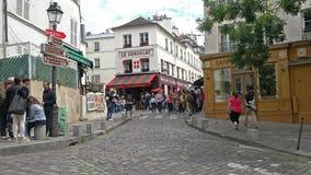 Montmartre a Parigi archivi video