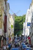 Montmartre, Parigi, Francia Fotografia Stock Libera da Diritti