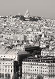 Montmartre, Parijs Stock Fotografie