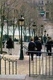 Montmartre Parijs Frankrijk Royalty-vrije Stock Foto