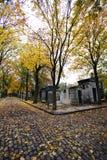 montmartre paris кладбища Стоковые Фотографии RF