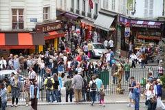 montmartre Paris obraz royalty free