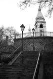 Montmartre, Paris. Back of Sacre Coeur, Montmartre, Paris Royalty Free Stock Photo