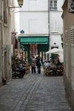 Montmartre in Paris Stockbilder