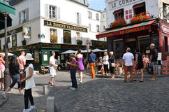 Montmartre in Paris Stock Images
