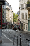 Montmartre in Paris. Royalty Free Stock Photo