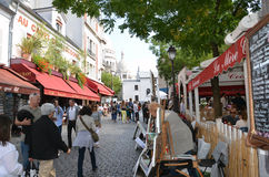Montmartre in Paris. Royalty Free Stock Photography