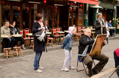 Montmartre, Paris Stock Images