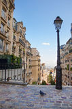 Montmartre in Paris city Royalty Free Stock Photo