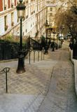Montmartre paris france Royalty Free Stock Photo