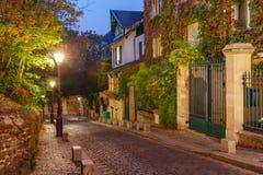 Montmartre in Paris, France stock image