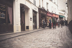 Montmartre Paris Stock Photo