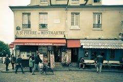 Montmartre Paris Stock Image