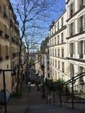 Montmartre Paris. France vacation city travel destination romantic Royalty Free Stock Images