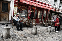 Montmartre, Paris. Royalty Free Stock Images