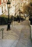 Montmartre Paris Frankreich Foto de archivo libre de regalías