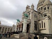Montmartre in Paris Stock Photos