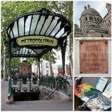 montmartre Paris target2982_0_ obrazy stock