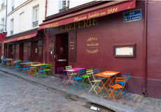 Montmartre in paris Stock Photos