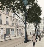 Montmartre in Paris Stock Photography