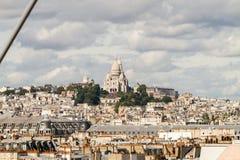 montmartre Paryża Obraz Royalty Free