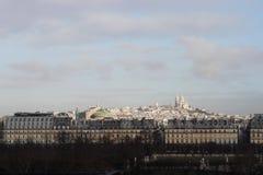 Montmartre ` s 18th Paryski Arrondissement zdjęcie royalty free
