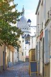 Montmartre, Sacré-coeur church Royalty Free Stock Photo