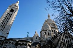 Montmartre. Sacred Heart Stock Images