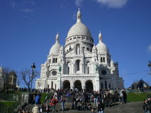 Montmartre Scene Royalty Free Stock Images