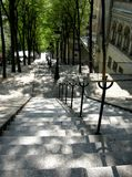 Montmartre Steps Stock Photos